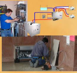 Perdida de gas calefaccion central